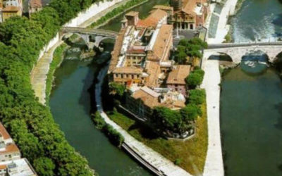 Isola Tiberina, the Origins of the Island-ship in the Center of Rome