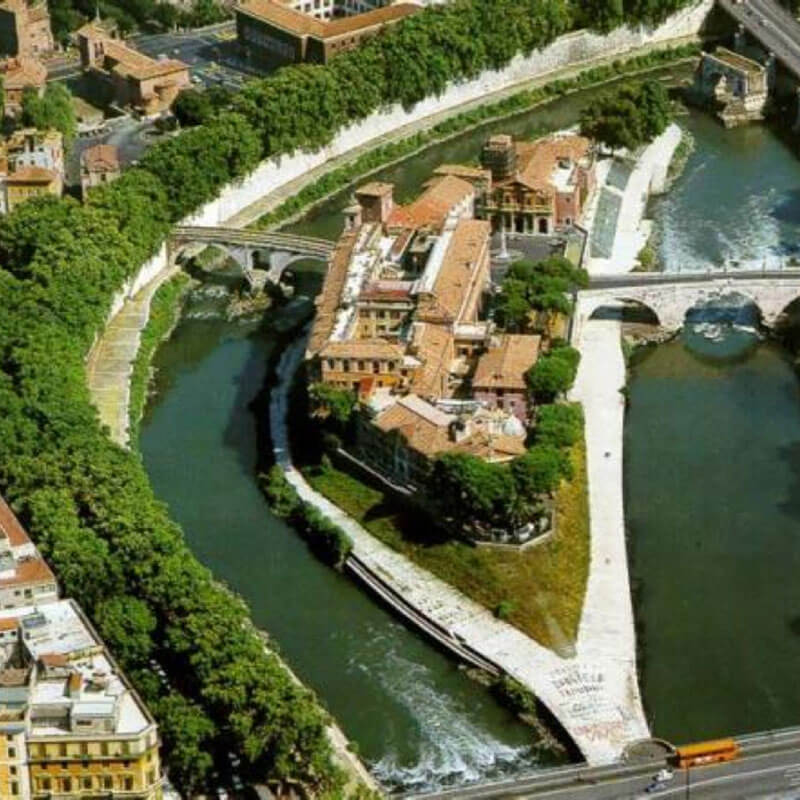 RomaGuideTour - Visite guidate a Roma - isola Tiberina