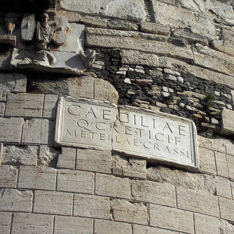 Roma Guide Tour | Tour visite guidate Roma | Tour Appia Antica | Mausoleo di Cecilia e Metella
